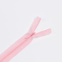 Молния потайная Т3 50см розовый