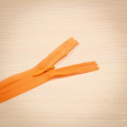 Молния потайная Т3 50 см Греция оранжевый