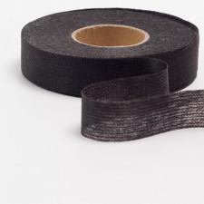 Лента нитепрошивная клеевая, 20мм черный