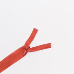 Молния потайная Т3 50см красно-коричневый