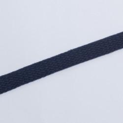 Шнур плоский плетеный 15мм т.синий