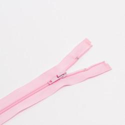Молния спираль Т5 80см разъемная розовый