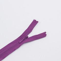 Молния потайная Т3 20см хлопок фиолетовый