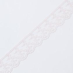 Кружево на сетке KRUZHEVO 45мм неж.розовый
