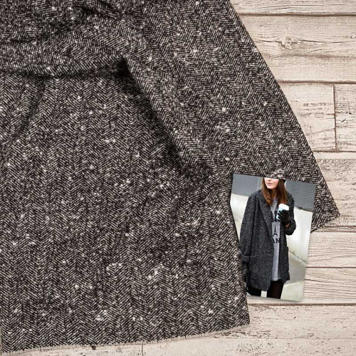 Твид пальтовый Wool