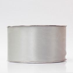 Лента атлас, 50мм серый