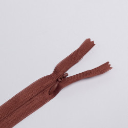 Молния потайная Т3 50см коричневый