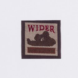 """Термоаппликация """"Wider Ranger"""" серый 3,2х3,3см"""