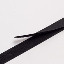 """Лента контактная """"Велкро"""" клеевая 25мм черный"""