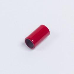 Наконечник металл 14х8мм красный