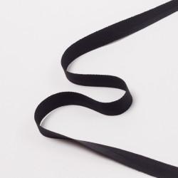Лента брючная 15мм черный
