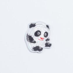 "Термоаппликация ""Панда"" белый 4х5,2см"