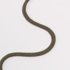 Шнур плетеный круглый 5мм хаки