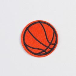 """Термоаппликация """"Баскетбольный мяч"""" 5,2см"""