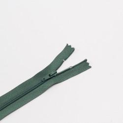 Молния спираль Т3 20см брючная т.зеленый