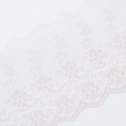 Кружево на сетке KRUZHEVO 185мм пыльная роза