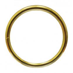 Кольцо металл разъемное 40х4 мм золотой