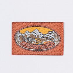 "Термоаппликация ""Les Alpes Blanches"" 5х3,2см"