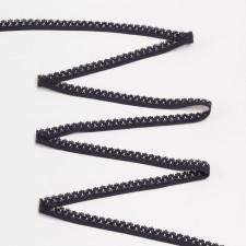 Резина бельевая 12мм черный