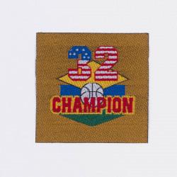 "Термоаппликация ""Champion"" 4,9х4,9см"