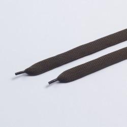 Шнурки обувные плоские 14мм 150см пара оливковый
