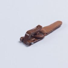 Крючок шубный 50мм св.коричневый Amii