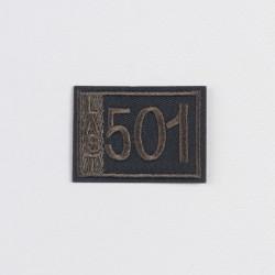 "Термоаппликация ""Last 501"" 4,7х3,4см"