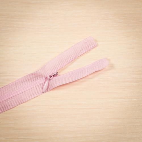 Молния потайная Т3 50 см Китай розовый