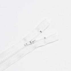 Молния спираль Т4 18см брючная белый