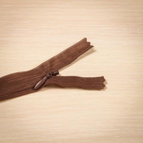 Молния потайная Т3 50 см Греция коричневый