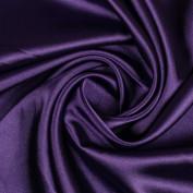 Ткань атлас стрейч однотонный
