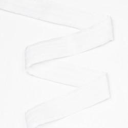 Лента шторная 60мм 3 нити белый