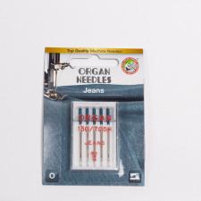 """Набор игл """"ORGAN"""", джинс 90, 5шт/уп"""