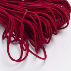Резина шляпная 3мм бордовый