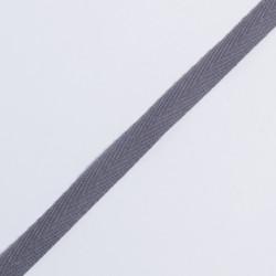 Лента киперная 10мм т.серый