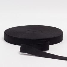 Резина бельевая черная, 20мм