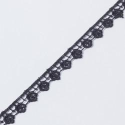 Кружево плетеное KRUZHEVO 15мм черный