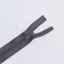 Молния спираль Т4 20см брючная графит