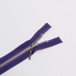 Молния металл Т5 18см фиолетовый