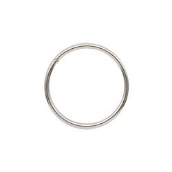 Кольцо металл разъемное 20х1,5мм никель