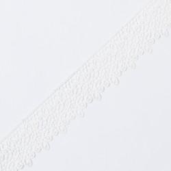 Кружево плетеное KRUZHEVO 45мм молочный