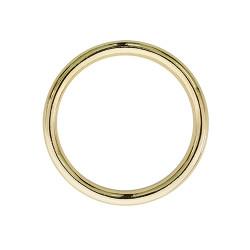 Кольцо металл не разъемное 50х4 мм золото
