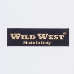 """Термоаппликация """"Wild West"""" 7х2см"""