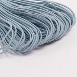 Резина шляпная 2мм голубой