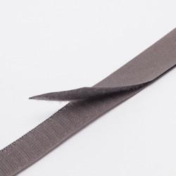 """Лента контактная """"Велкро"""" пришивная 25мм серый"""