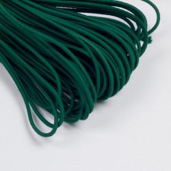 Резина шляпная 3мм т.зеленый