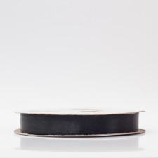 Лента атлас, 12мм черный