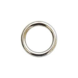Кольцо металл 25х5мм никель