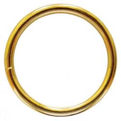 Кольцо металл разъемное 50х5мм золото