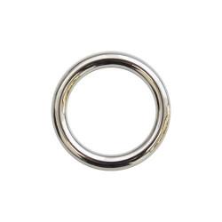 Кольцо металл литое 30х5мм никель